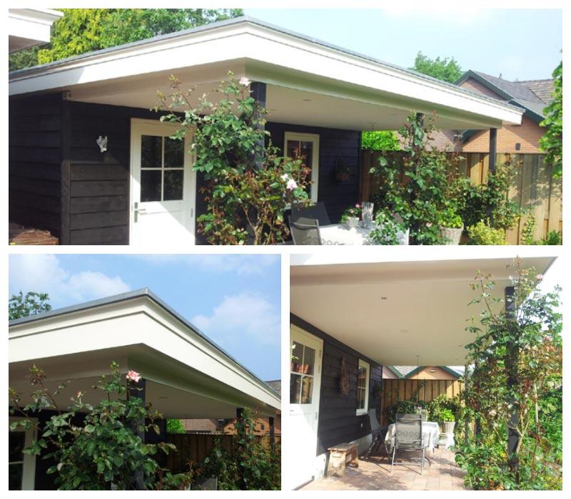 schilderwerk tuinhuis en veranda
